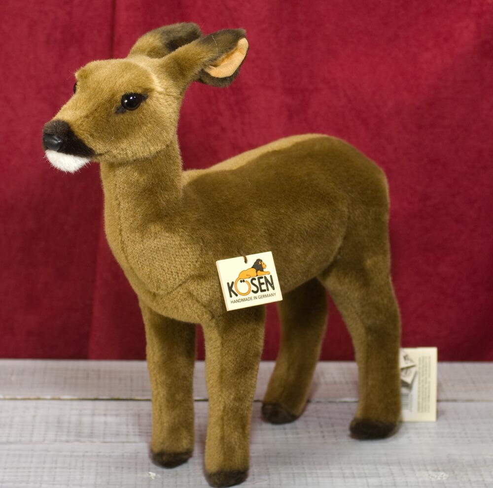 ケーセン ぬいぐるみ kosen ノロジカ メス 33cm Doe Deer リアル 動物