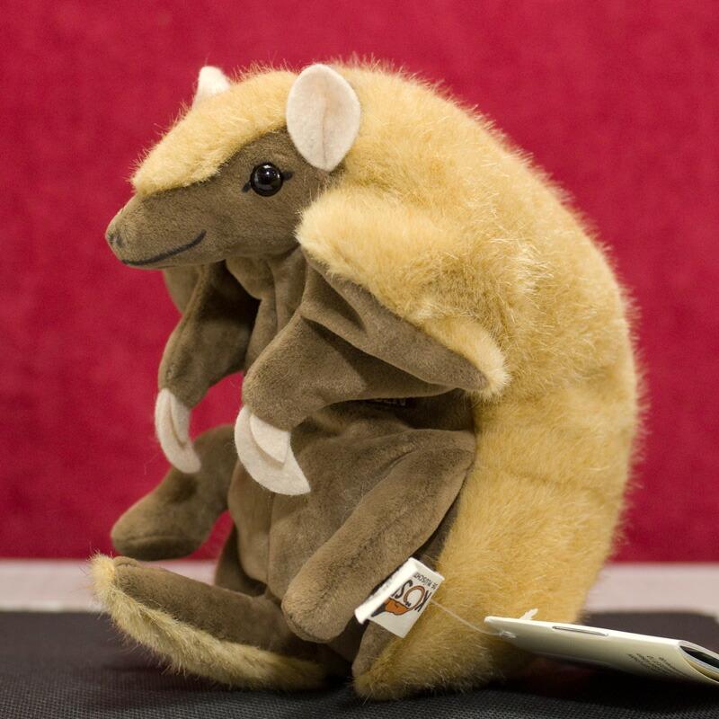 ケーセン ぬいぐるみ kosen アルマジロ Armadillo 14cm リアル 動物
