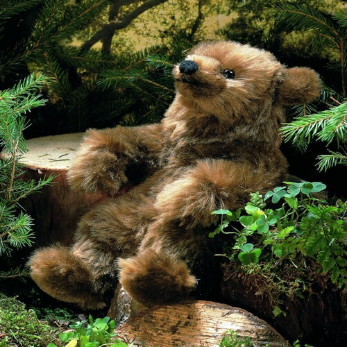 """ソフトモヘアベア(ミニ) KOSEN(ケーセン社) 26cm Brown Bear Mohair """"Molli""""/クマ/くま/テディベア プレゼント/リアル/動物/ギフト/子供/女の子/男の子/大人/クリスマス"""