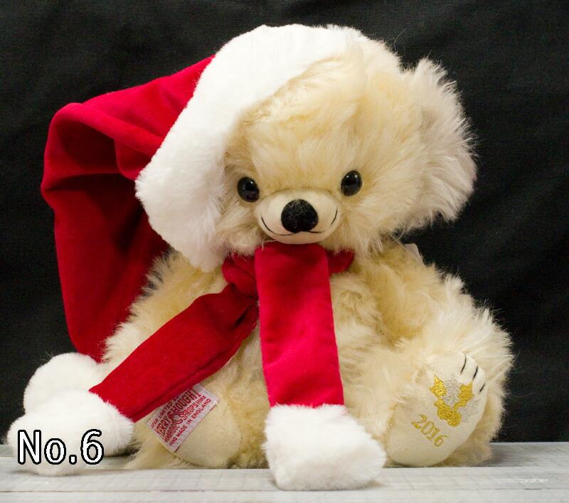 2016年日本限定チーキークリスマスホリデー2016 25cmテディベア ぬいぐるみ プレゼント コレクション クリスマス