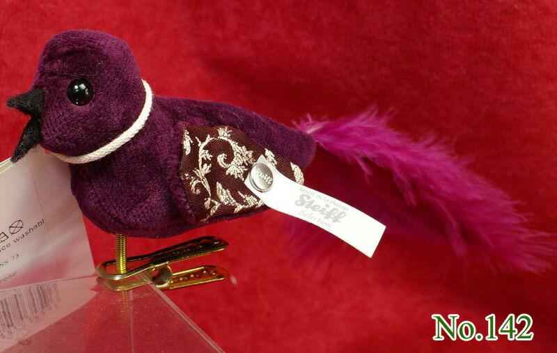 シュタイフ(Steiff)世界限定テディベア 小鳥のフェリーネ プレゼント リアル ぬいぐるみ クリスマス