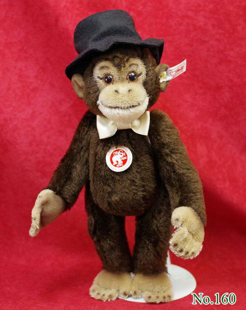 Steiffシュタイフ 世界限定チンパンジーのフレデリック テディベア プレゼント リアル ぬいぐるみ クリスマス