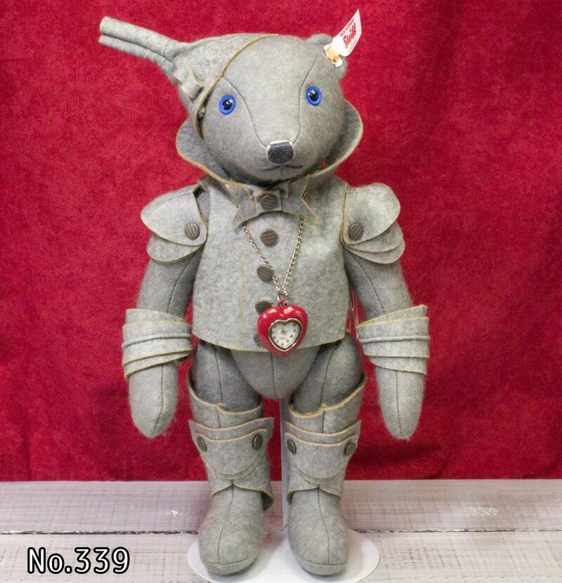 Steiffシュタイフ アメリカ限定オズの魔法使いよりブリキのきこり(Wizard of Oz Tin Man Teddy Bear) テディベア ぬいぐるみ 誕生日 プレゼント 内祝い ギフト クリスマス