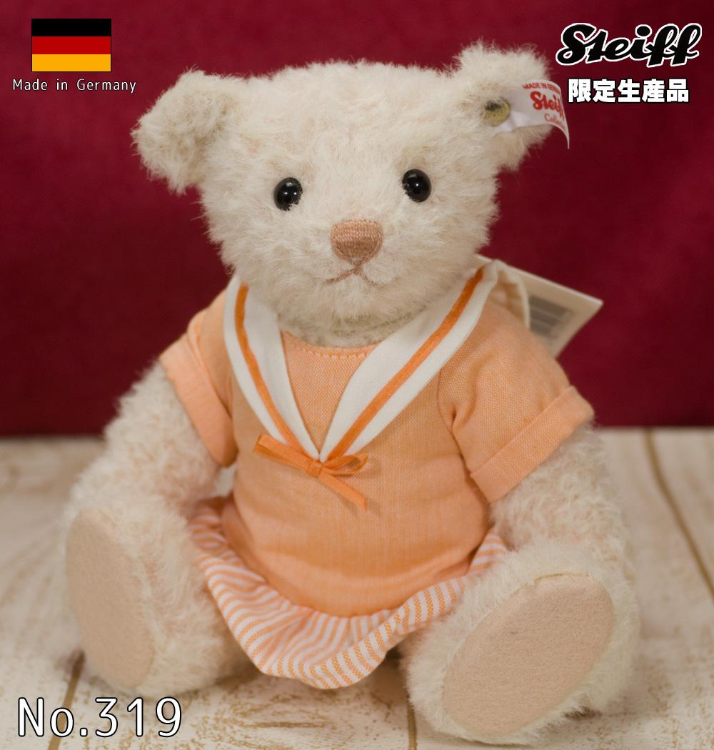 シュタイフ テディベア Steiff 世界限定イーディス(Edith) テディベア (Teddy Bear)