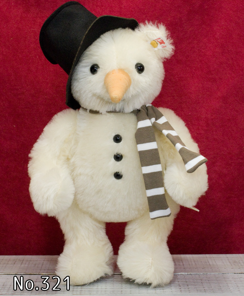 シュタイフ テディベア Steiff 世界限定モンティ スノーマン テッド (MONTY SNOWMAN TED) テディベア