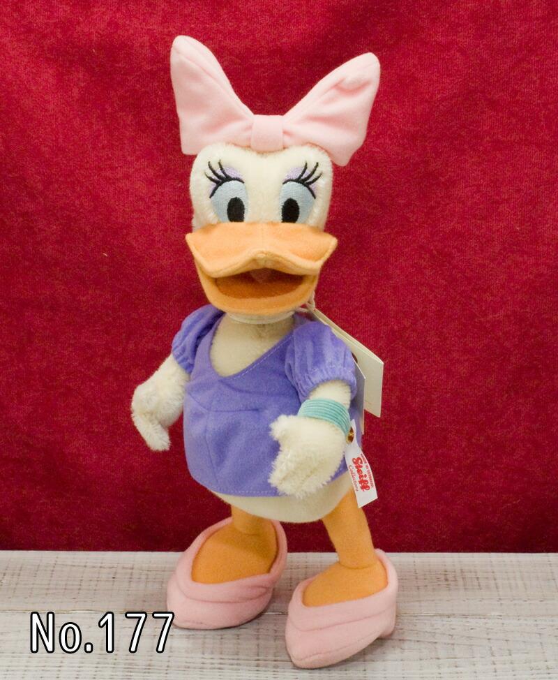 Steiffシュタイフ 世界限定 デイジーダック Daisy Duck プレゼント リアル ぬいぐるみ クリスマス