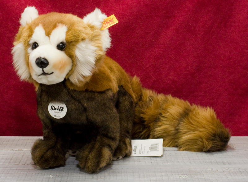 Steiffシュタイフ ベンディー レッサーパンダ 32cm (Bendy Red Panda)テディベア ぬいぐるみ 誕生日 プレゼント 内祝い ギフト クリスマス