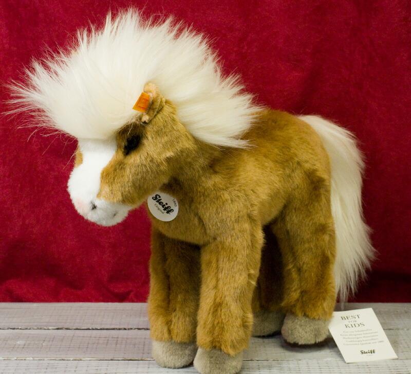 シュタイフ テディベア Steiff ファニー ポニー 30cm (Fanny Pony)テディベア ぬいぐるみ 誕生日 プレゼント 内祝い ギフト クリスマス