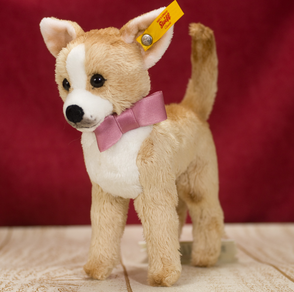 Steiffシュタイフテディベア チリー チワワ Chilly Chihuahuaテディベア ぬいぐるみ 誕生日 プレゼント 内祝い ギフト クリスマス