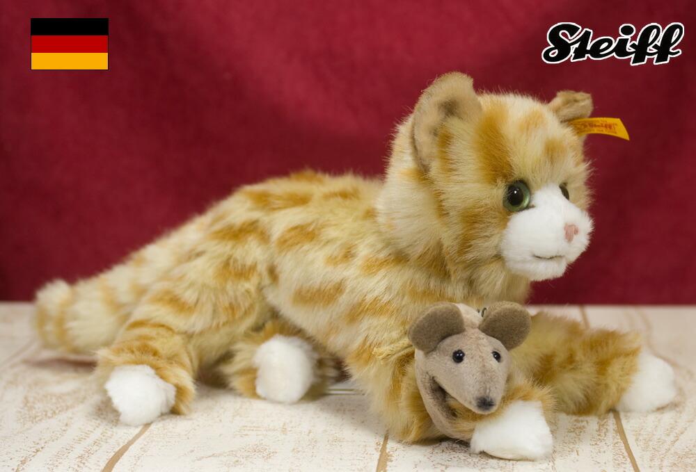 <title>ドイツ Steiff シュタイフ 社テディベア テディベア ミミ 猫 在庫一掃売り切りセール</title>