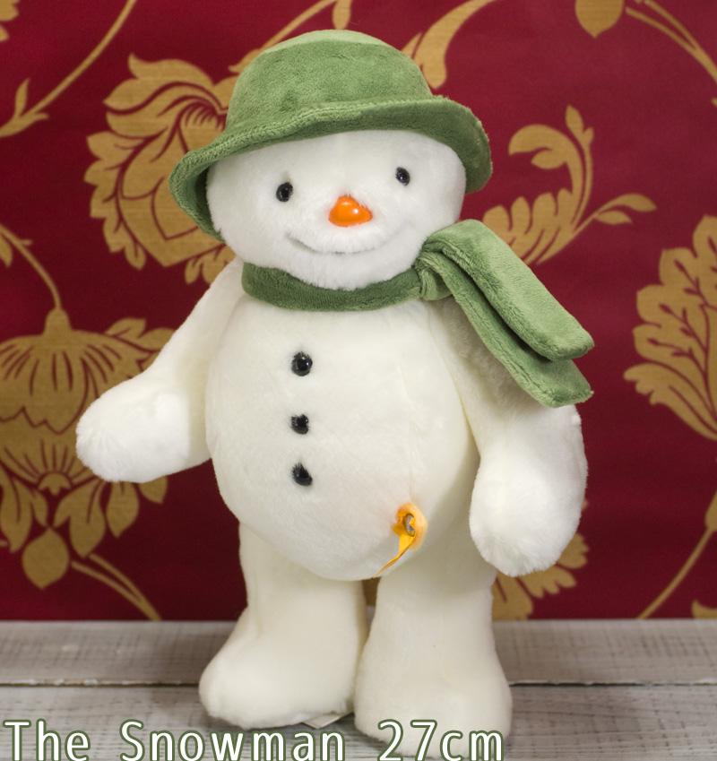 Steiffシュタイフ スノーマン 27cm (The Snowman) テディベア ぬいぐるみ プレゼント ふわふわ クリスマス