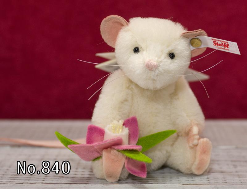 Steiffシュタイフ 世界限定 リジー・マウス Lizzy Mouse プレゼント リアル ぬいぐるみ クリスマス