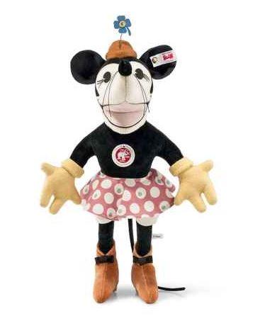 Steiffシュタイフ 世界限定 ディズニー  ミニーマウス 1932 Minnie プレゼント リアル ぬいぐるみ クリスマス