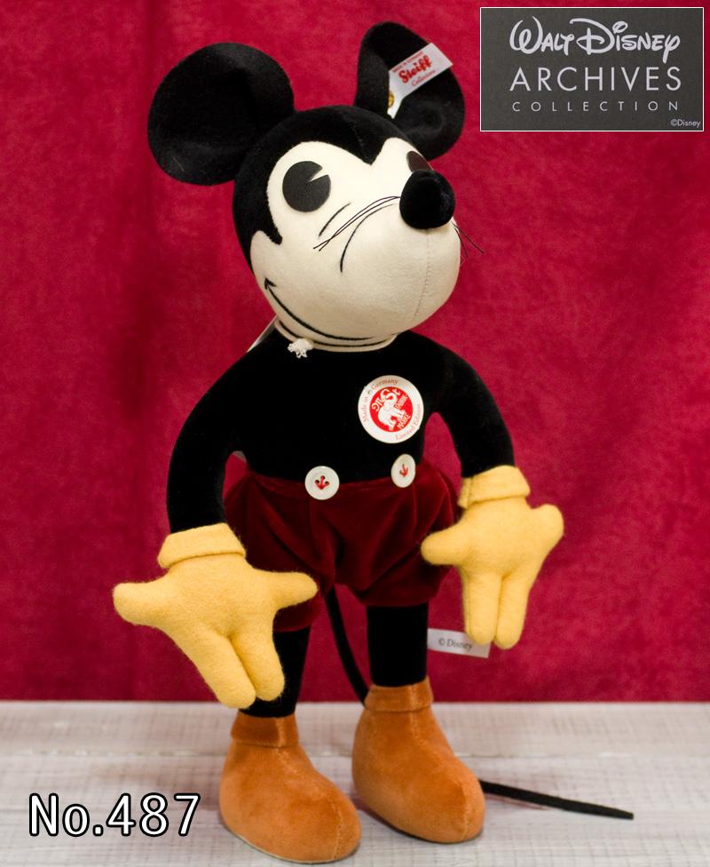 シュタイフ テディベア Steiff 世界限定 ミッキーマウス Mickey