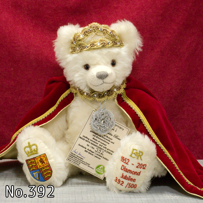 The Queen's Diamond Jubilee 2012■グリーンハーマン社 限定テディベア