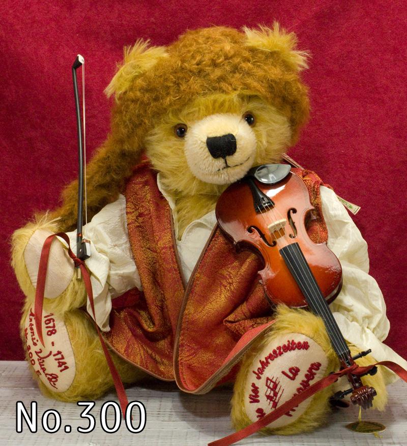 Antonio Vivaldi(アントニオ・ヴィヴァルディ)2012■緑ハーマン社 限定テディベア