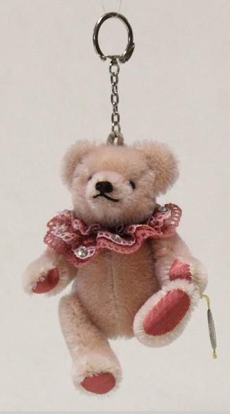 テディベアペンダントピンク Teddy Pendant 13 cm