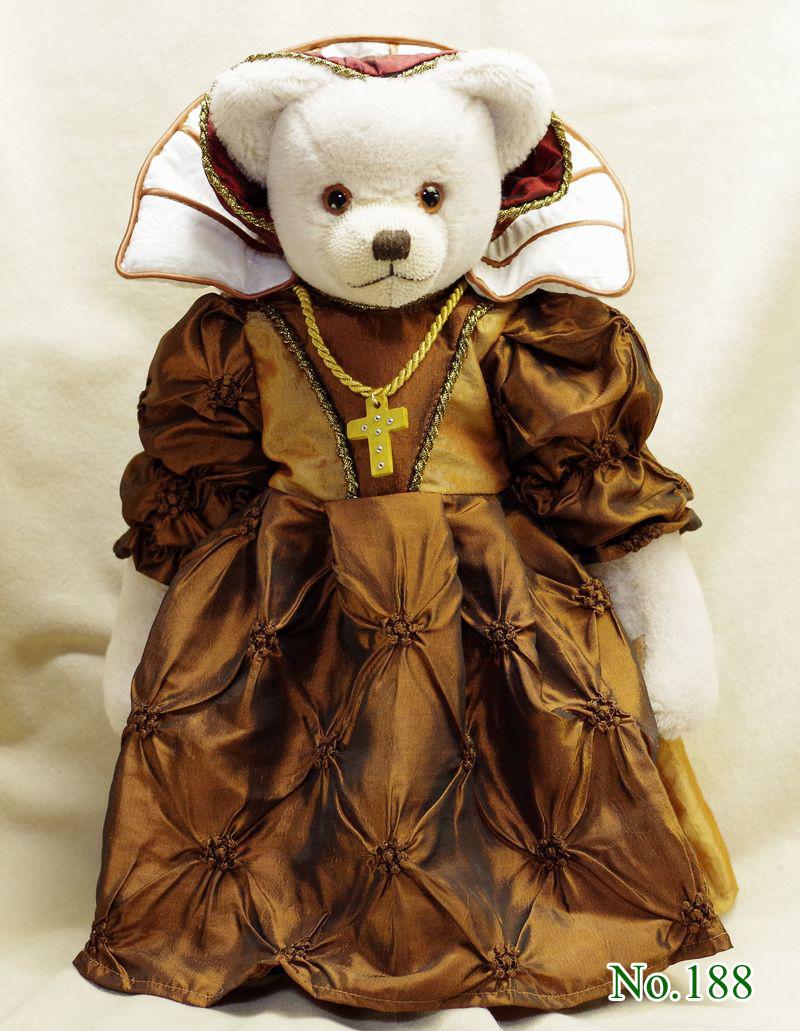 スコットランド女王メアリー・ステュアート(Maria Stuart) テディベア グリーンハーマン社  限定テディベア