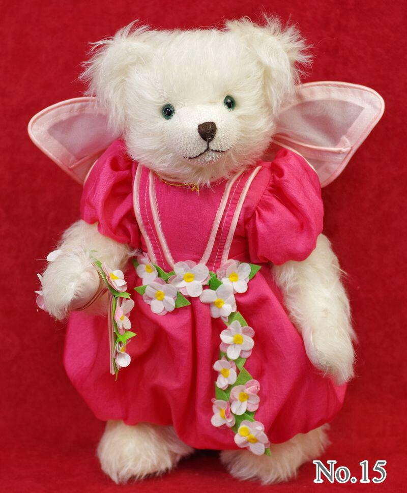 限定50体 ハーマン 桜の花妖精~Cherry Blossom Fairy~■グリーンハーマン社 限定テディベア