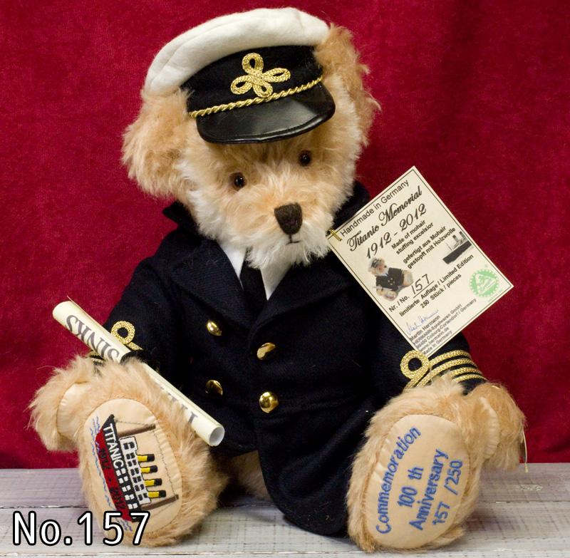 Titanic Memorial1912 - 2012■緑ハーマン社 限定テディベア