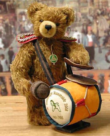 15周年 ゾンネベルク ミュージアム ベア 2008 ドイツ 緑ハーマン社テディベア