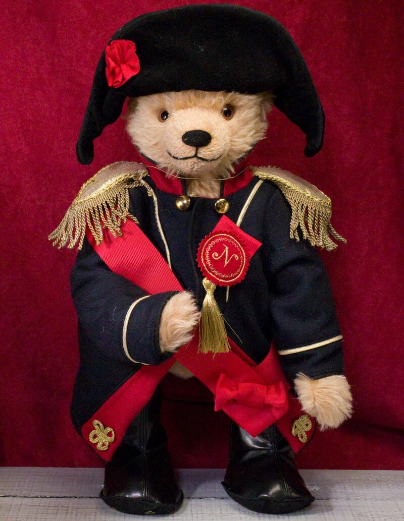 【お取り寄せ】ナポレオン皇帝即位200 周年記テディベア■グリーンハーマン社 限定テディベア