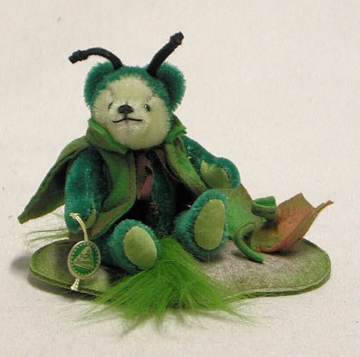 フィロキセラ 小 緑ハーマン社テディベア