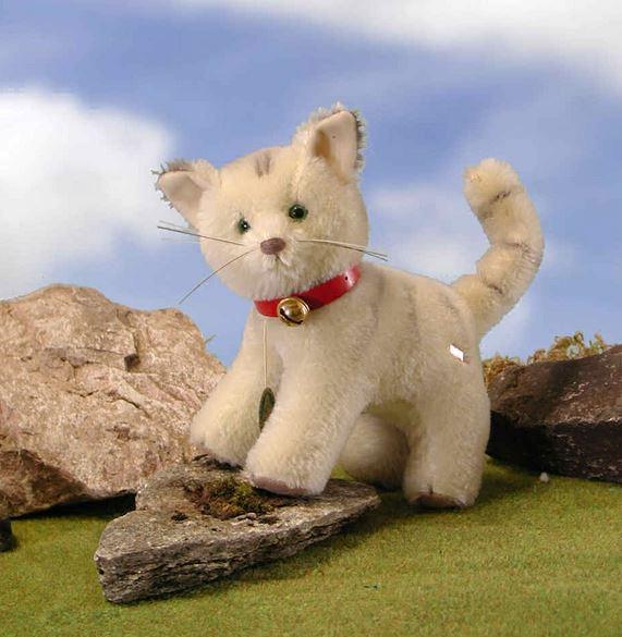 ハーマン クラシック 猫 緑ハーマン社テディベア