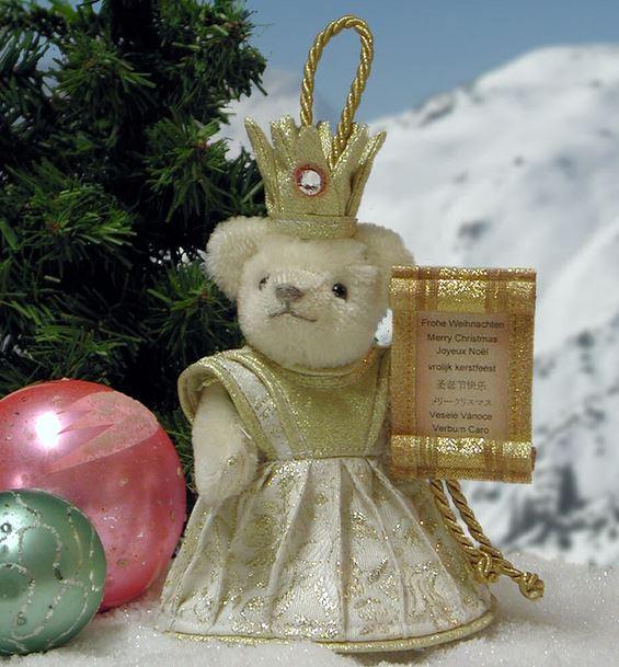 ドイツ クリスマス 緑ハーマン社テディベア