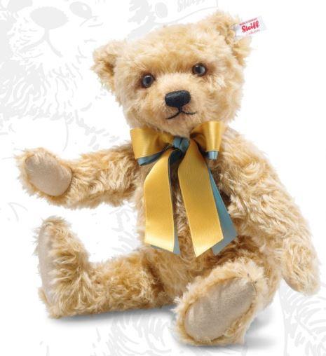 シュタイフ テディベア Steiff steiff ブリティッシュコレクターズベア 2020 37cm UK限定 テディベア British Collectors mohair Teddy bear