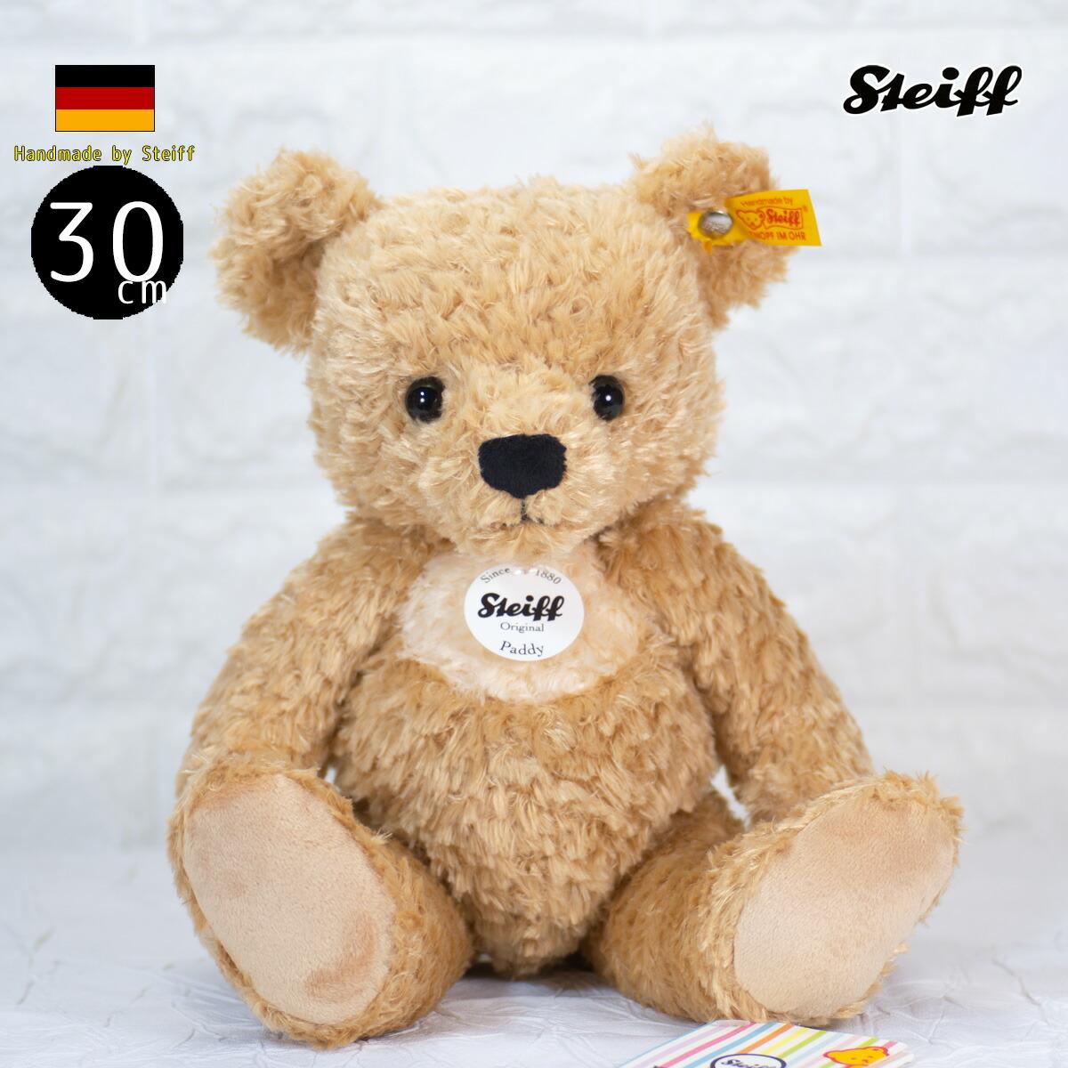 シュタイフ テディベア Steiff テディベア パディ ソフトタイプ テディベア 30cm steiff テディベア PADDY TEDDY BEAR