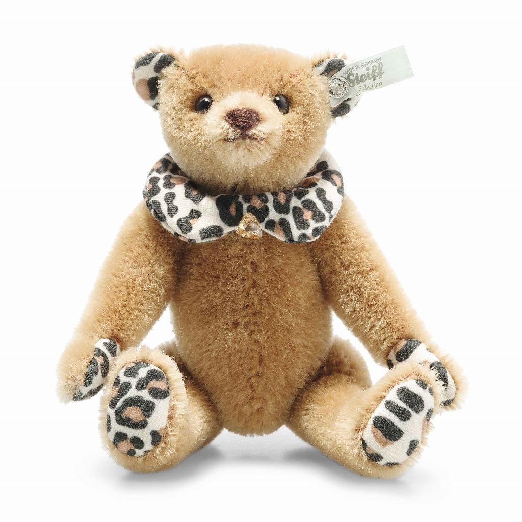 シュタイフ テディベア Steiff スワロフスキー レオ ミニテディベア 16cm steiff テディベア Leo Mini Teddy bear