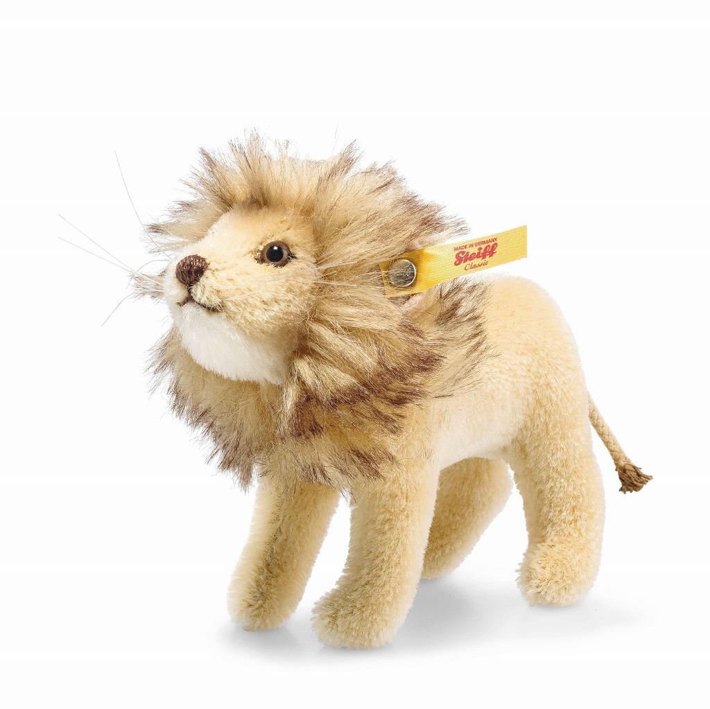 シュタイフ テディベア Steiff ナショナルジオグラフィック ライオン in ギフトボックス 13cm steiff テディベア National Geographic LION IN GIFT BOX