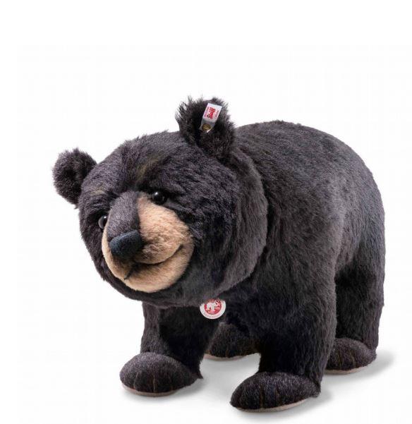 シュタイフ テディベア Steiff Steiff 世界限定ミスタービックベア Mr. Big black bear テディベア プレゼント リアル ぬいぐるみ クリスマス