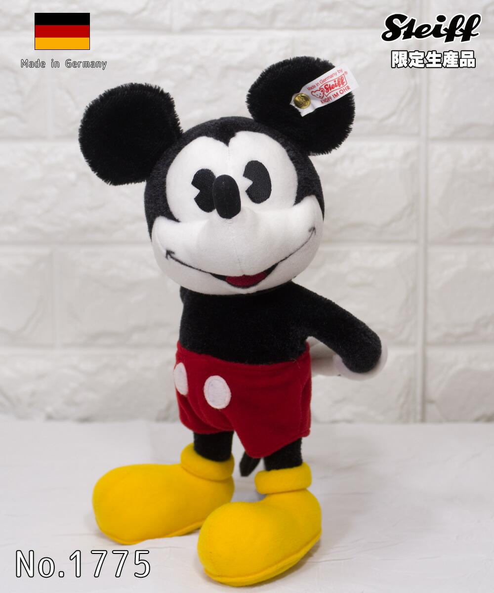 Steiffシュタイフ ミッキーマウス(Micky Maus) テディベア プレゼント リアル ぬいぐるみ クリスマス