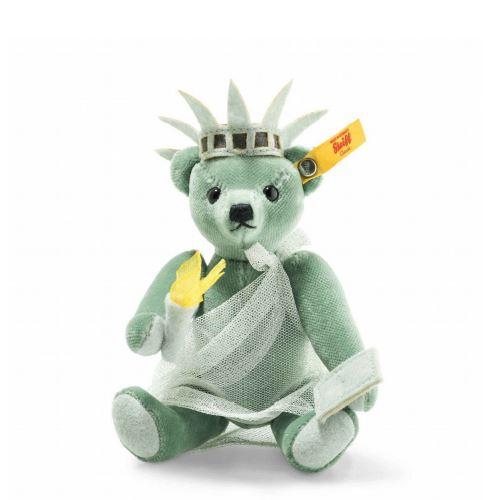 シュタイフ(steiff)ニューヨーク テディベアNew York Teddy Bear 15 cm ぬいぐるみ ギフト プレゼント クリスマス