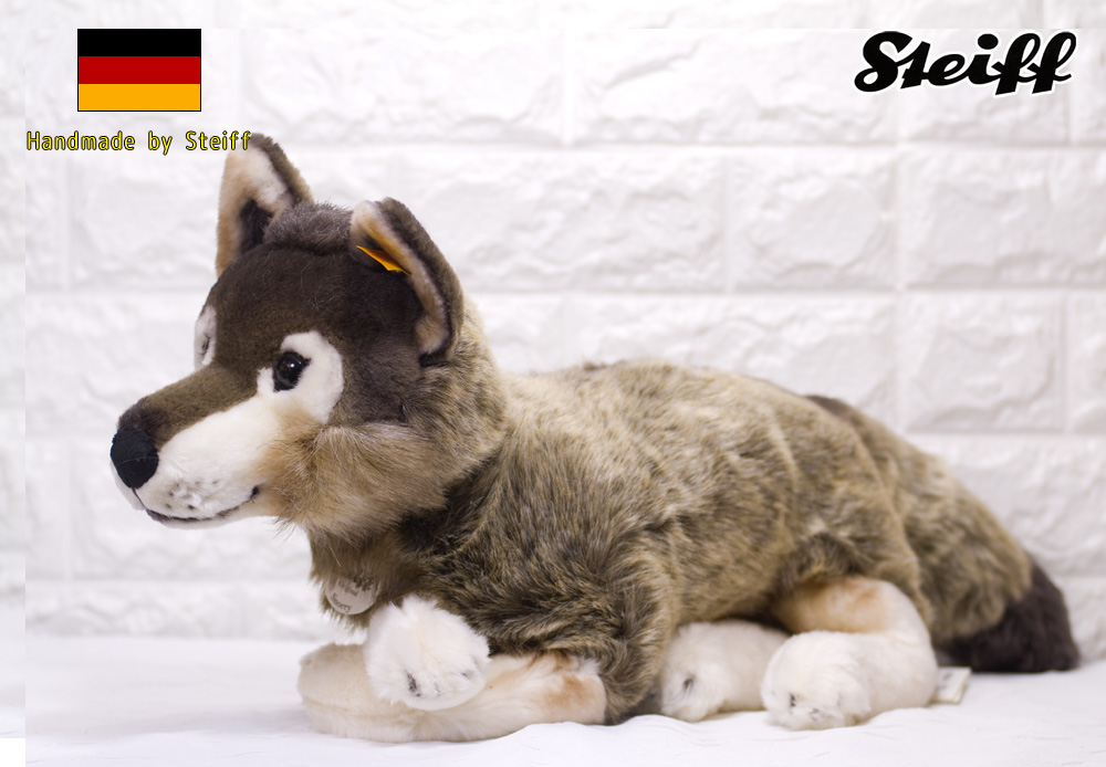 Steiffシュタイフ スノーリー ダングリング 狼