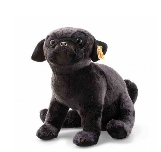 シュタイフ テディベア Steiff ペリーパグ 24cm Perry pug テディベア 犬 ぬいぐるみ