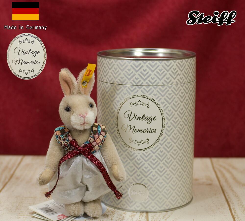 シュタイフ(steiff)リックラビット テディベアRick Rabbit 16 cm ぬいぐるみ ギフト プレゼント クリスマス