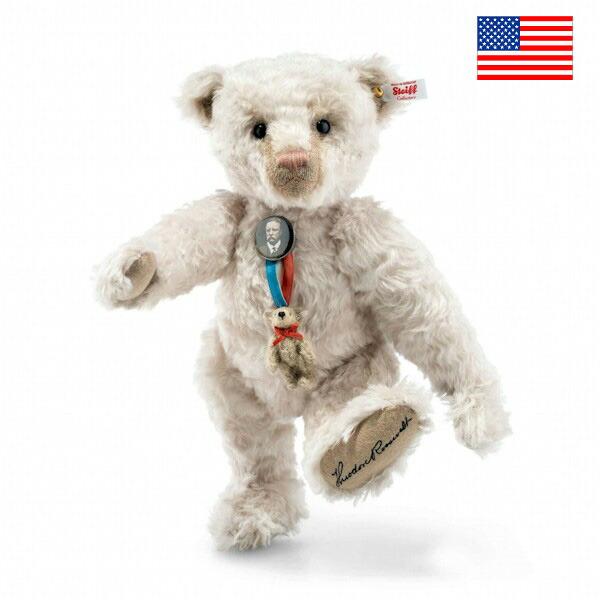 シュタイフ テディベア Steiff アメリカ限定セオドア・ルーズベルト テディベア 35cm Steiff Theodore Roosevelt Teddy bear
