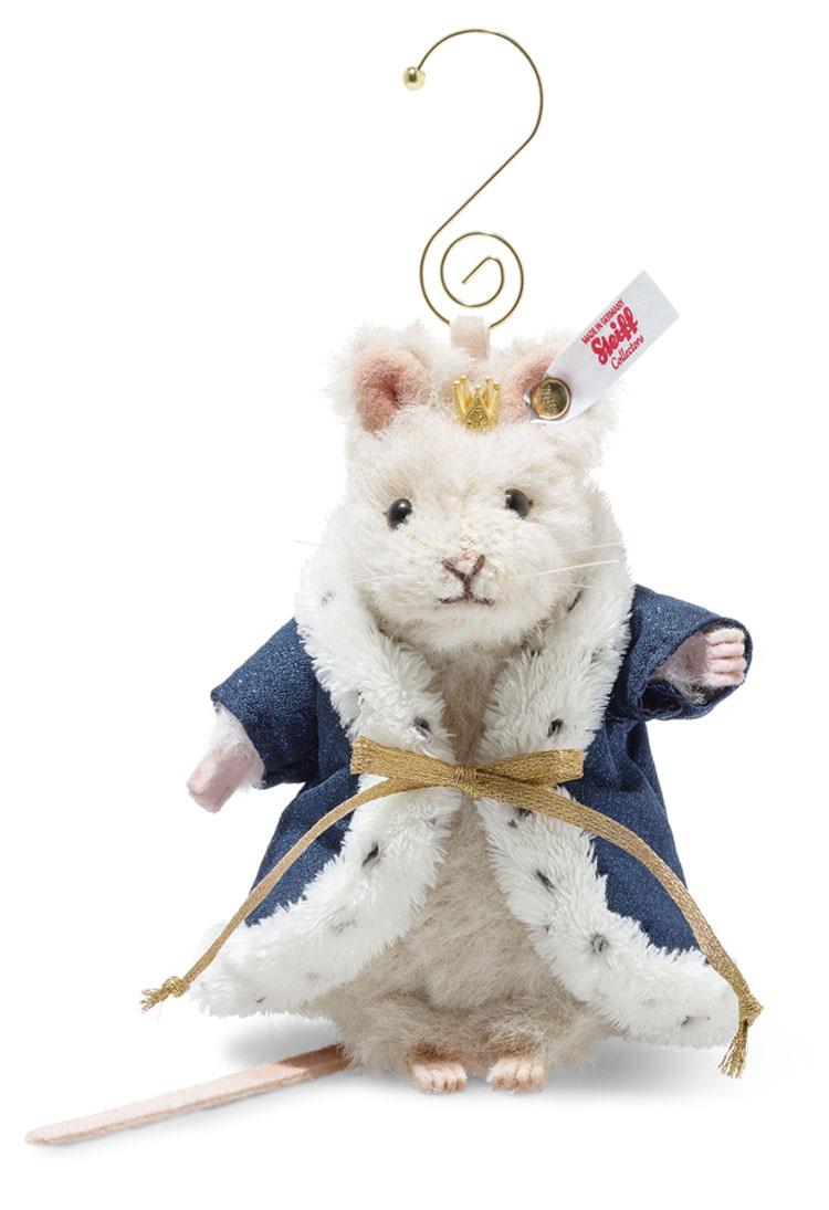 シュタイフ テディベア Steiff 世界限定マウスキング オーナメント(くるみ割り人形より) 11cm ean006883 Mouse king ornament