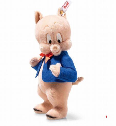 シュタイフ テディベア Steiff 世界限定ポーキーピッグ 23cm Steiff Porky pig