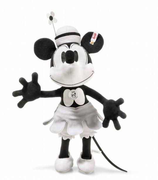 シュタイフ(steiff) ミニーマウス誕生90周年蒸気船ウィリーミニーマウス 38cm Steiff Disney Minni Mouse Steamboat Willie