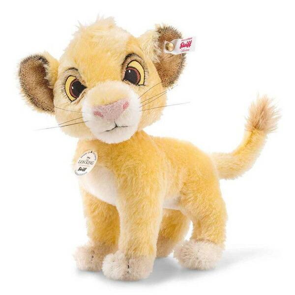 シュタイフ テディベア Steiffディズニー 世界限定テディベア ライオンキングよりシンバ Disney Lion King Simba
