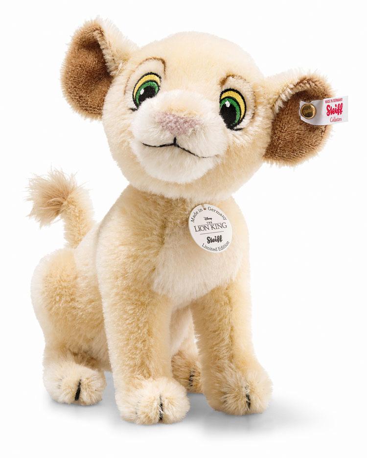 シュタイフ テディベア Steiff 世界限定ディズニー ライオンキング ナラ 24cm ean355370 Disney Disney Lion King Nala