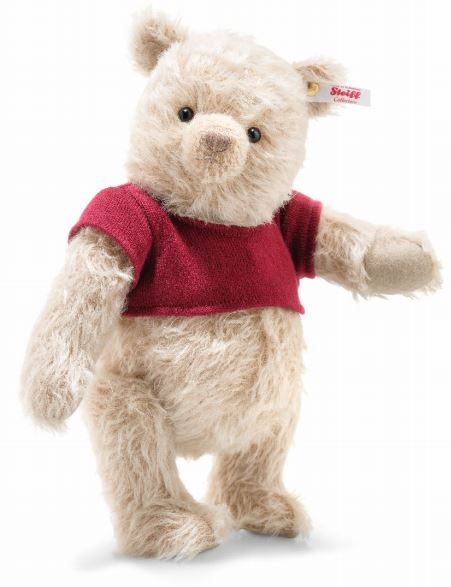 シュタイフ テディベア Steiff 世界限定ディズニー クリスチャーロビン ウイニー ザ プー 30cm ean355424 Disney Christopher Robin Winnie the Pooh