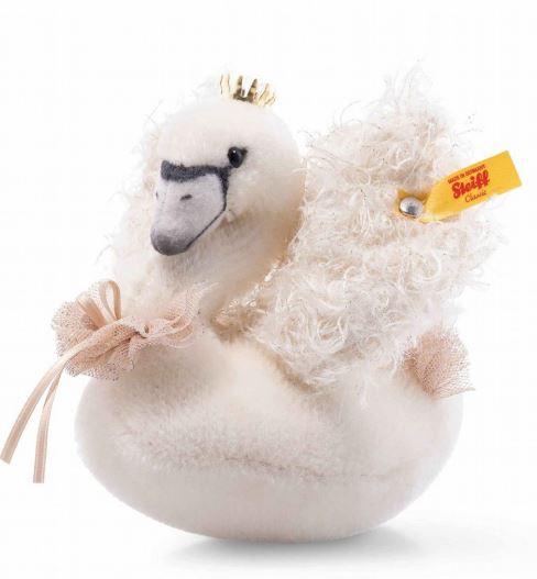 シュタイフ テディベア Steiff シルク スワン 白鳥 Silke swan in gift box 12 cm ぬいぐるみ ギフト プレゼント テディベア