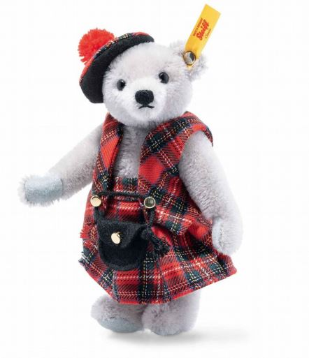 シュタイフ(steiff)エディンバラ テディベア Edinburgh Teddy bear in gift box 16cm ぬいぐるみ ギフト プレゼント クリスマス