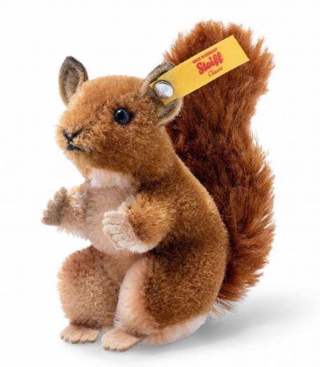 Steiffシュタイフ ワイルドライフ リス 10cm squirrel in gift box