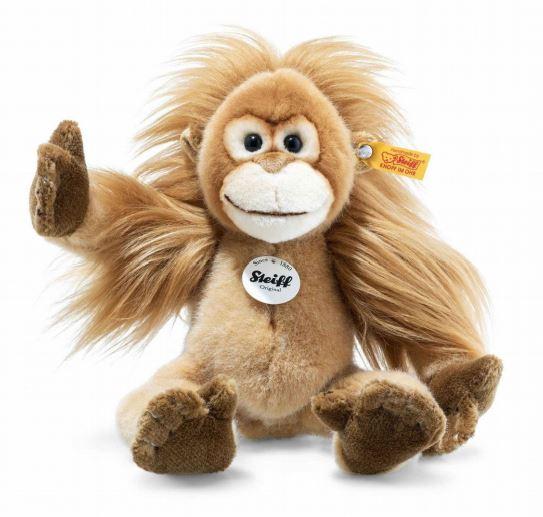 シュタイフ テディベア Steiffエラニ ベビーオランウータン 28cm Elani Baby Orangutan テディベア ぬいぐるみ